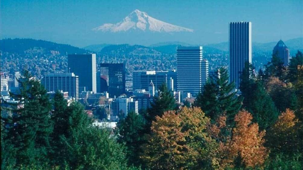 Panoramic view of Portland