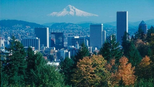 Panoramic view of Portland