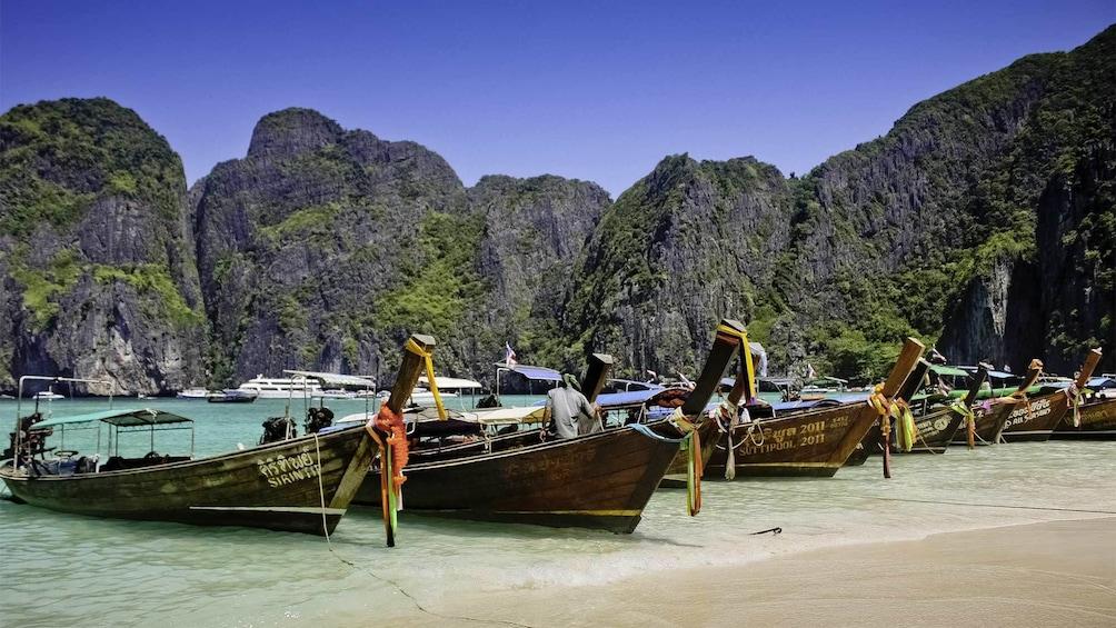 Show item 1 of 8. Stunning view of Phi Phi Island in Phuket, Thailand