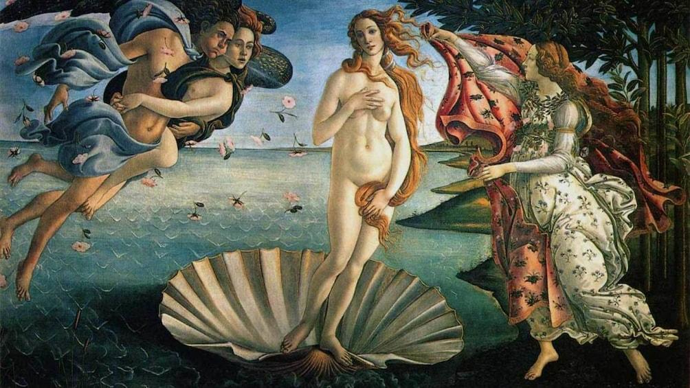 แสดงภาพที่ 3 จาก 6 an old painting in Florence