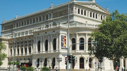 Alte Oper, or Old Opera House, in Frankfurt Germany