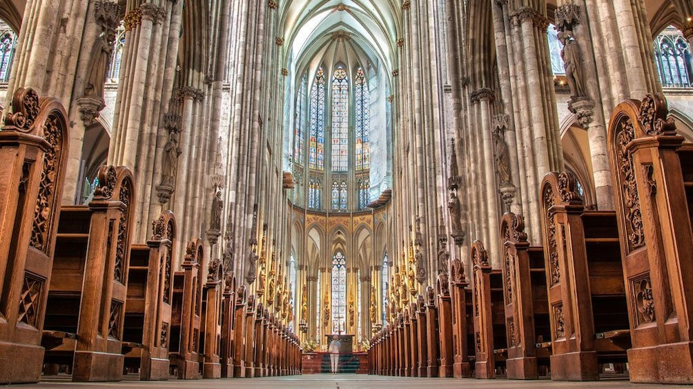 Show item 2 of 5. Interior of a cathedral in Cologne