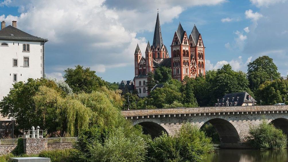 Bridge and castle in Limburg