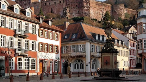 hotel establishments near an old castle in Germany