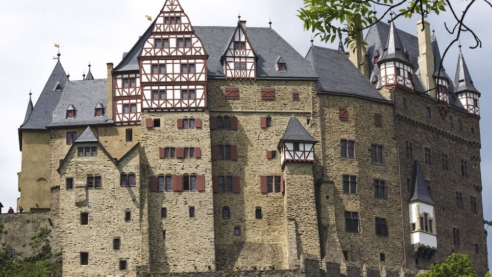 Exterior view of castle.