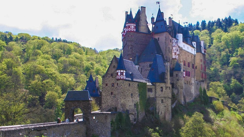 Show item 3 of 5. Exterior view of castle taken from afar.