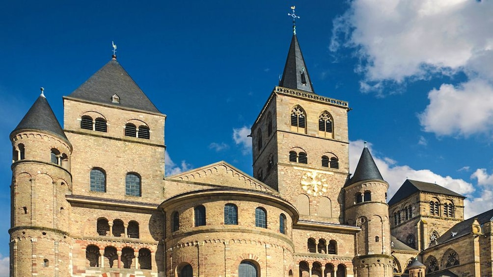 Show item 3 of 5. Exterior view of Cathedral of Trier.
