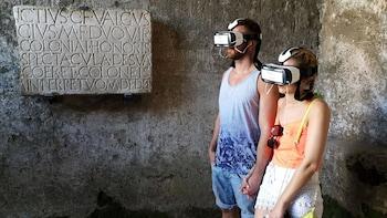 Visite privée de Pompéi avec casque de réalité virtuelle 3D