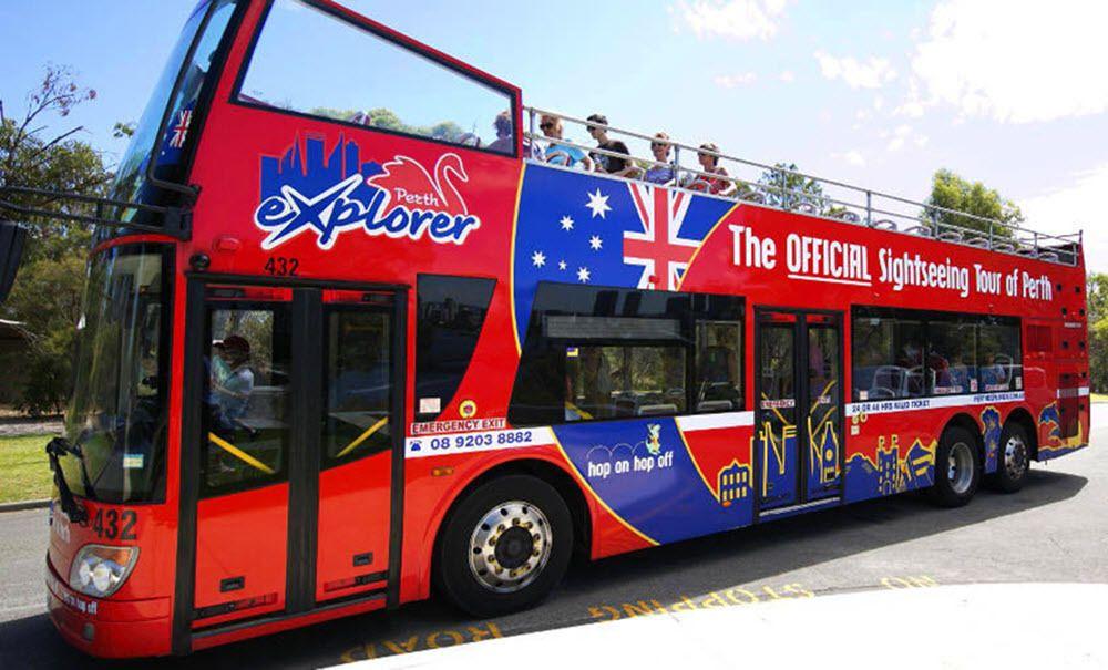 Hop-On Hop-Off City Bus Tour