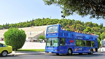 Forfait combinant la visite classique d'Athènes, avec Pirée et plages en bu...