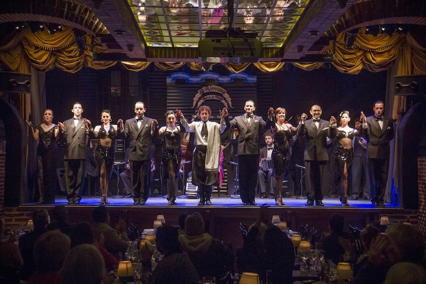 La Ventana Tango Show with Optional Dinner