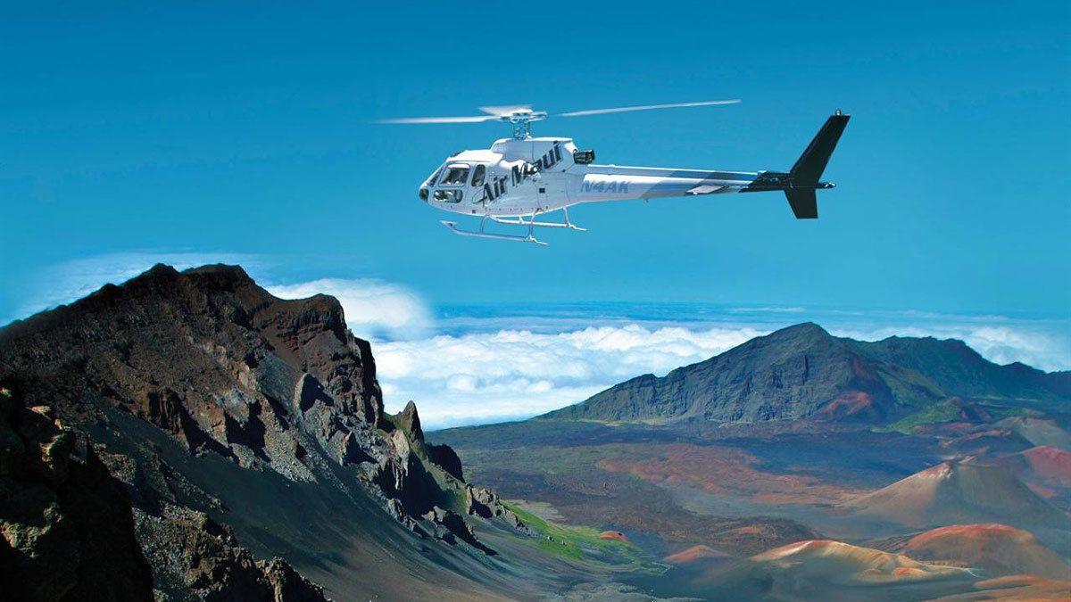 Helicopter Tour of Hana & Haleakala with Cliff Landing