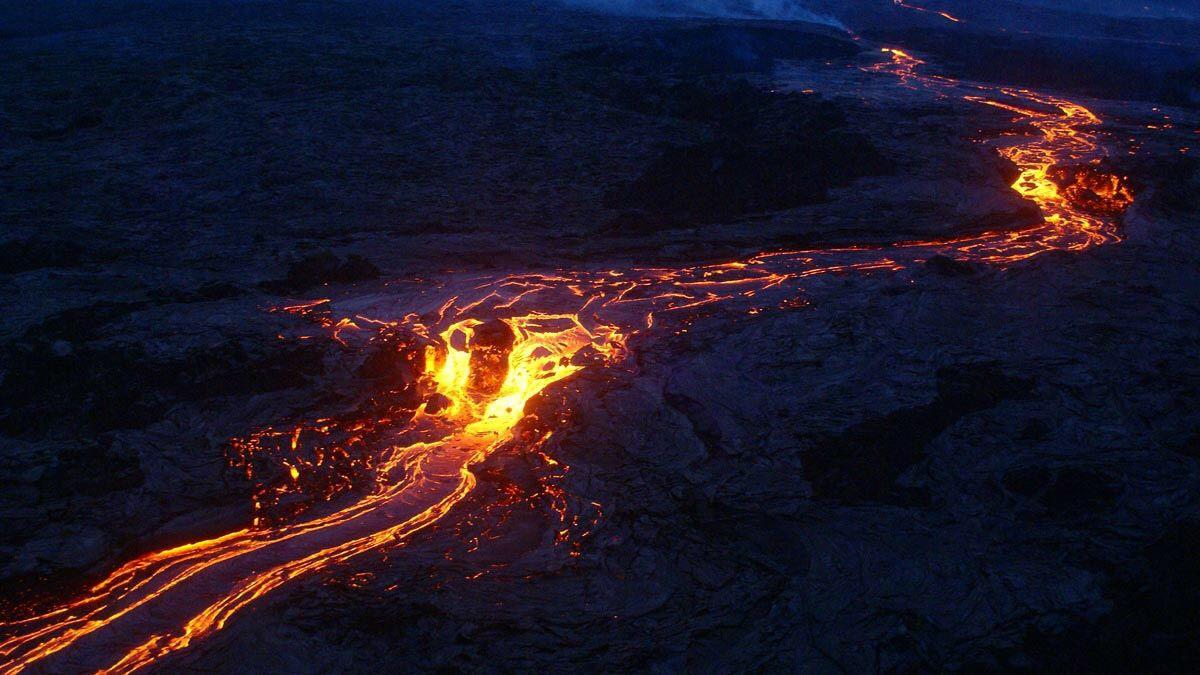 Sunset Volcano Air Tour