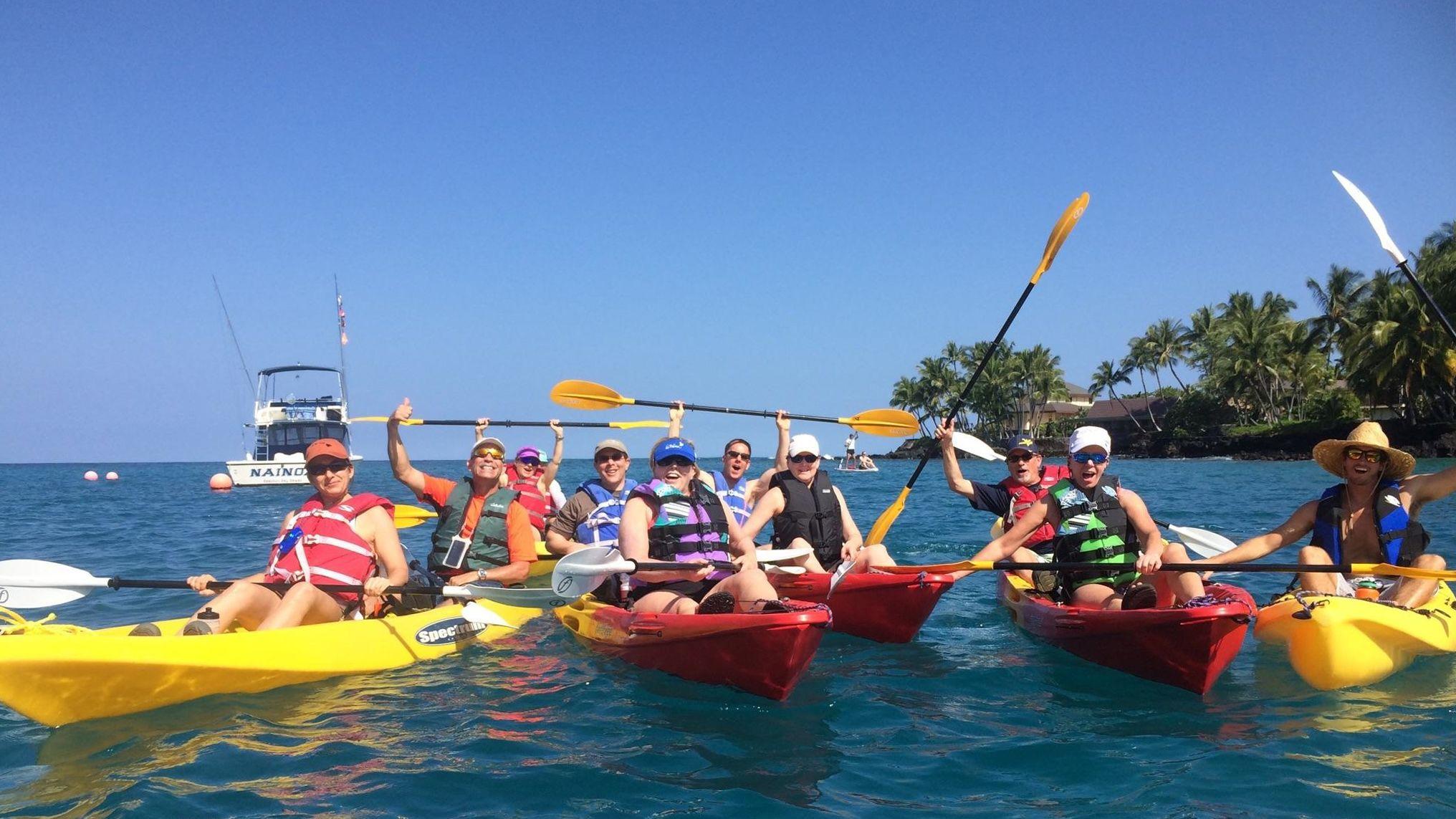 Keauhou Bay & Beyond Kayak Adventure