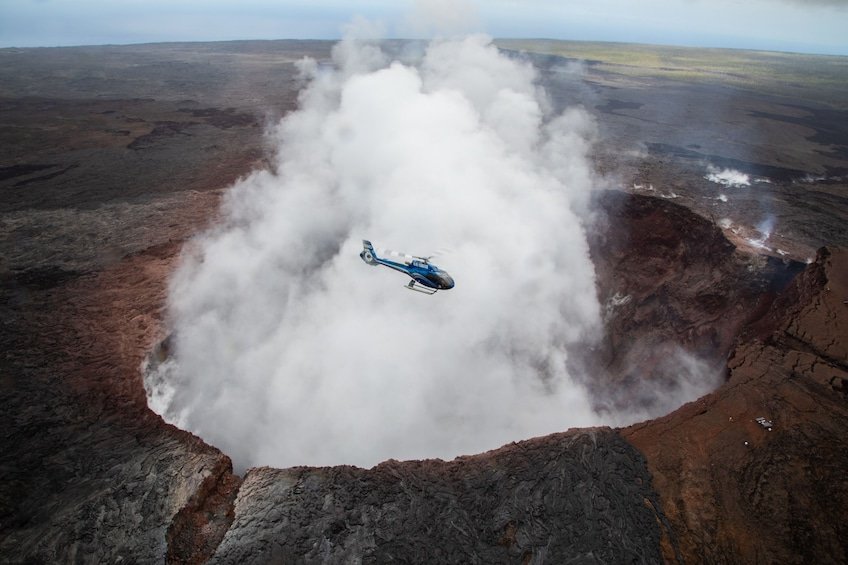 Show item 1 of 9. Hilo Fire & Falls Helicopter Tour