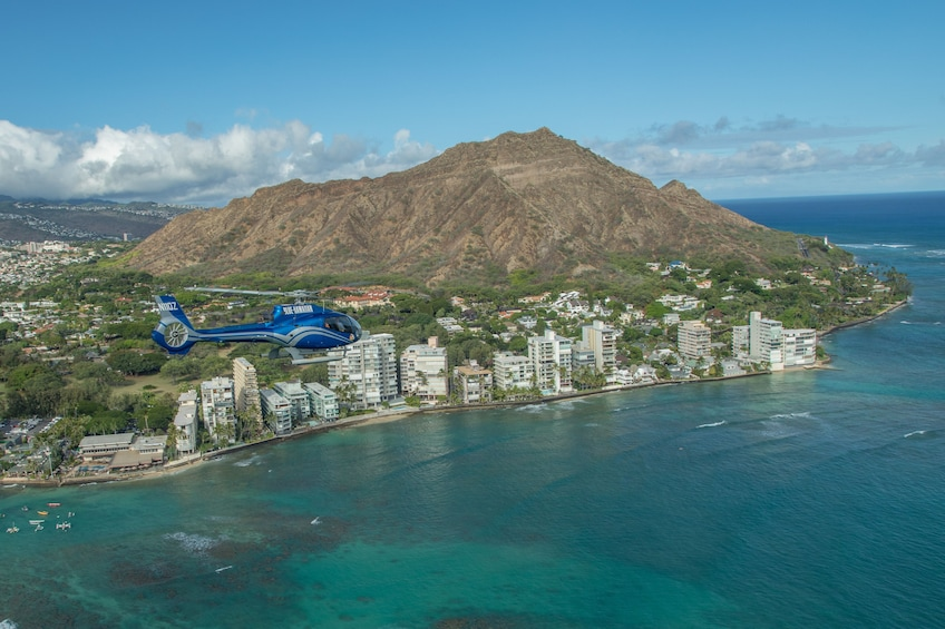 Show item 1 of 9. Blue Skies of Oahu Helicopter Tour