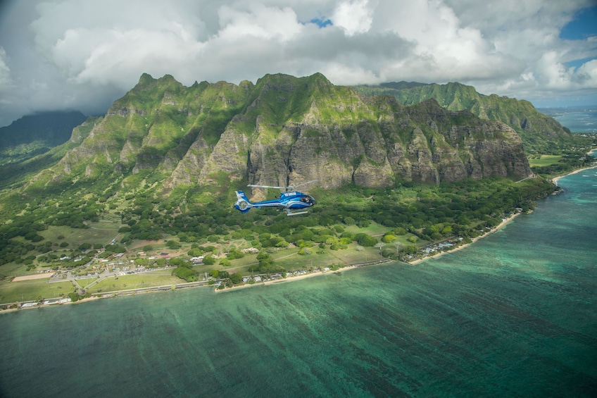 Show item 4 of 9. Blue Skies of Oahu Helicopter Tour