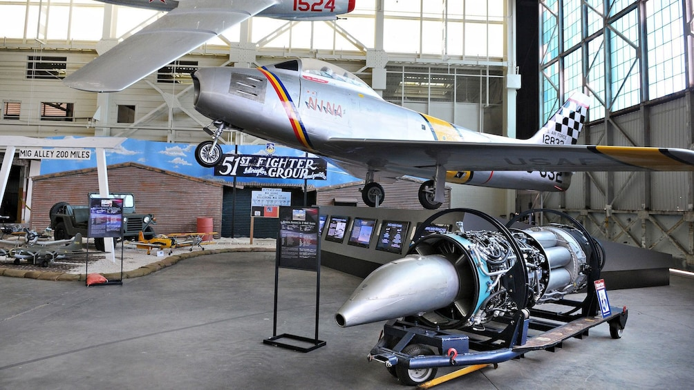 Warplanes and prototypes are featured in the Pacific Aviation Museum in Oahu