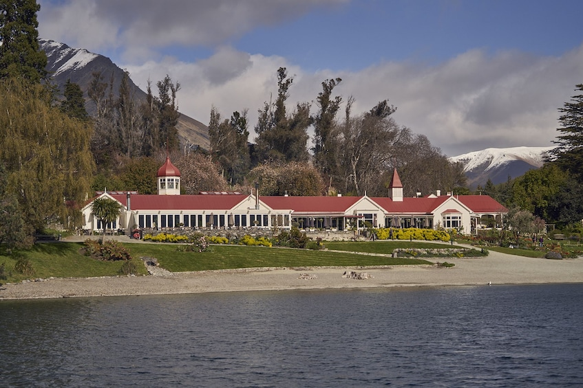 Show item 4 of 15. TSS Earnslaw Cruise, Walter Peak Farm Tour & Barbecue Lunch
