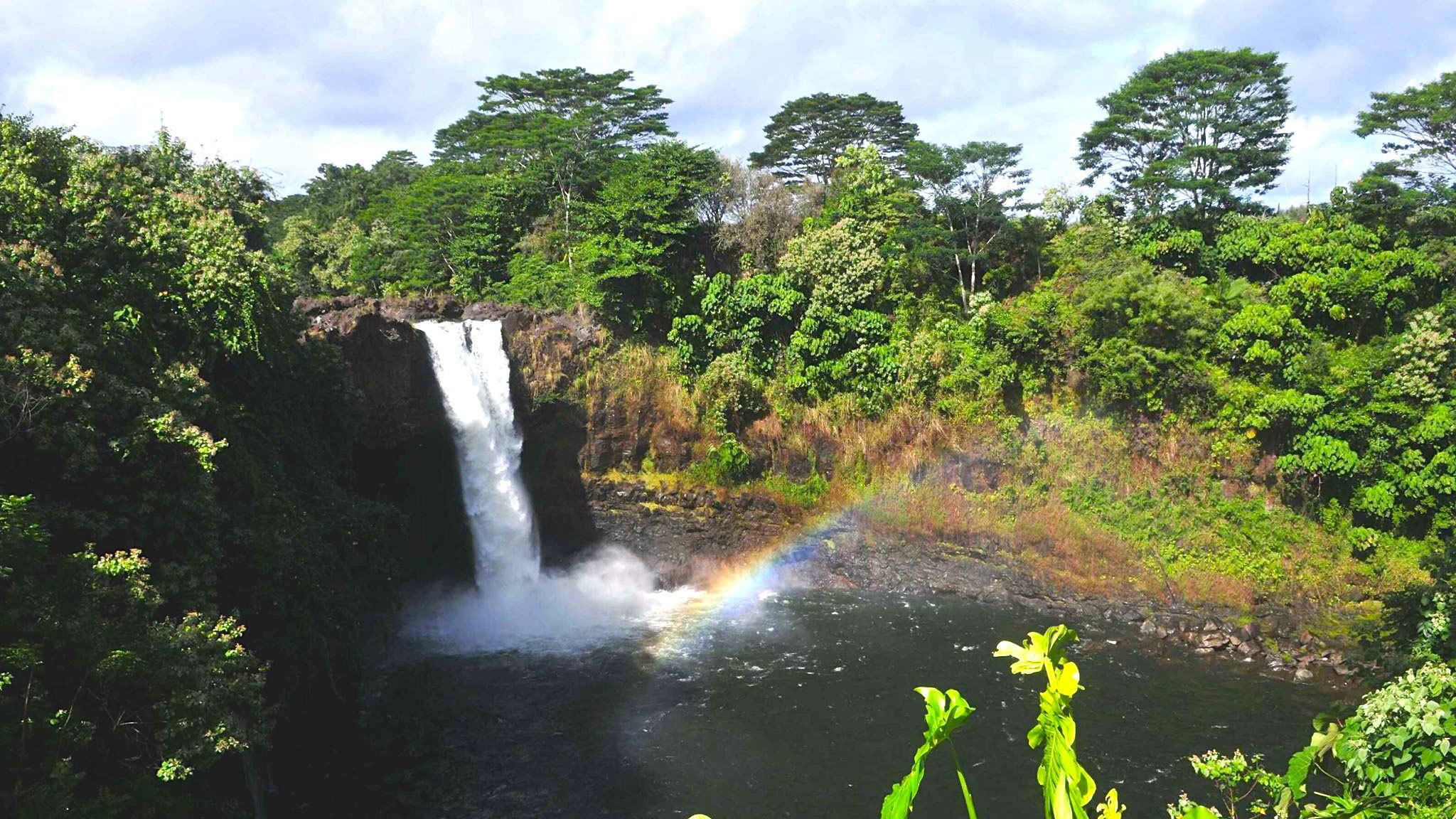 Experience the majestic waterfalls that surround Hawaii Volcanoes National Park