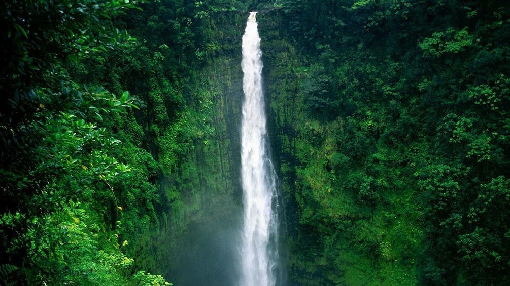 Show item 3 of 10. Waterfalls surround Hawaii Volcanoes National Park