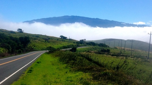 Scenic view of the road on Big Island