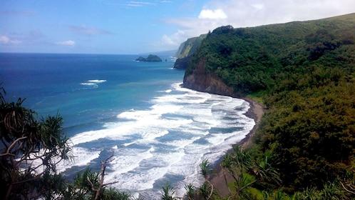 View of Big Island coast