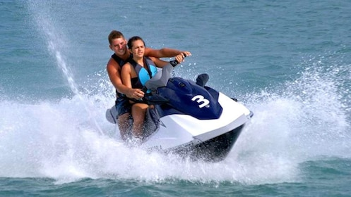 H2O Sports jet skis are available to rent in Hanauma Bay, Oahu