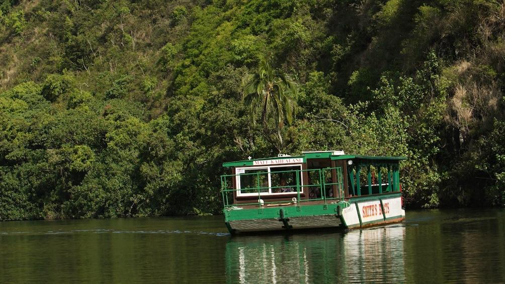 Boat in Kauai