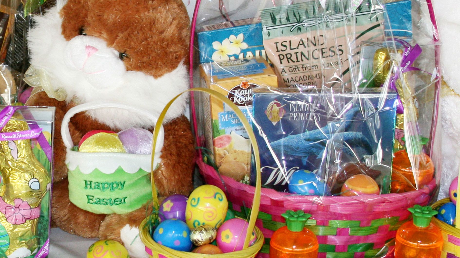 Easter items on cruise near Oahu