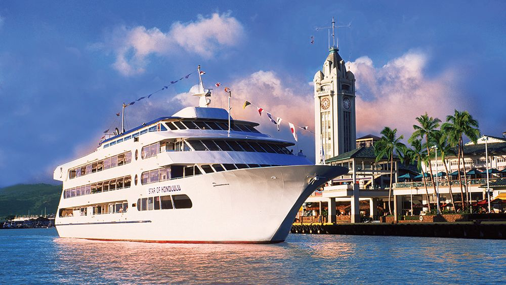 Sunset Dinner Cruise with Roast Beef Buffet & Polynesian Show