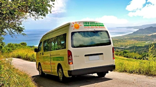 van transportation in Barbados