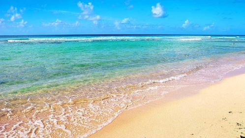 sunny day at the beach in Barbados