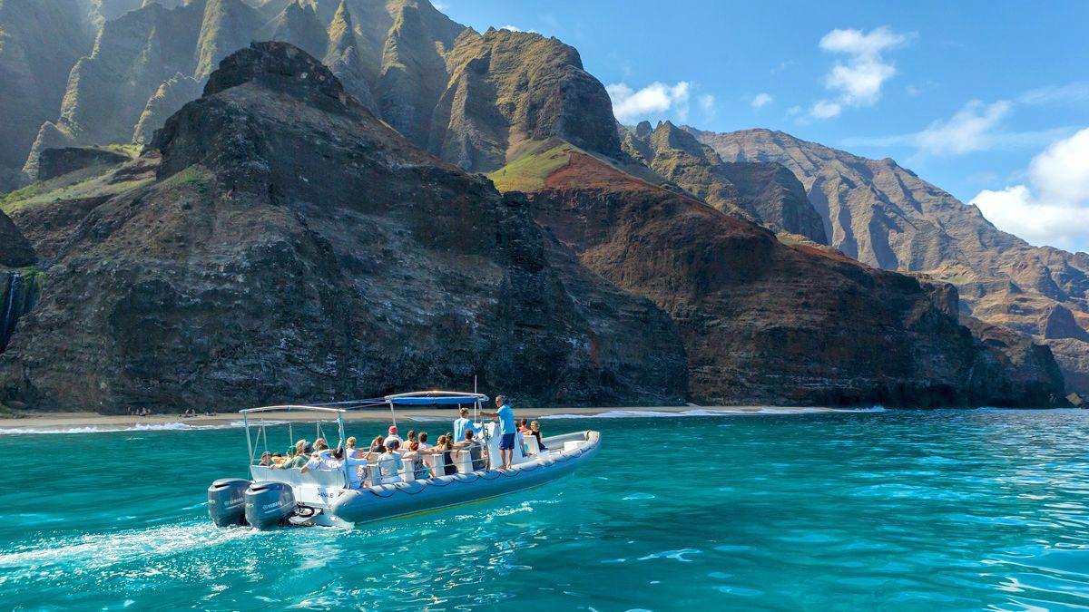 Napali Coast Snorkel Adventure from Hanalei Bay