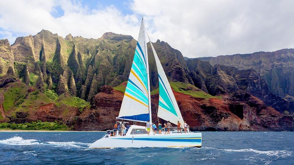 Show item 2 of 10. Catamaran in Hawaii