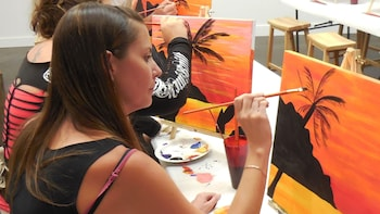 Creative Painting with Island Music & Drinks