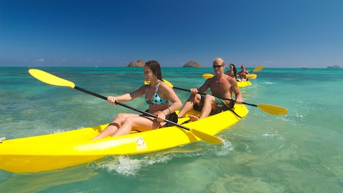 Head out on a kayak expedition to explore Oahu's coast