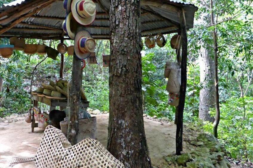 Traditional Haitian Village