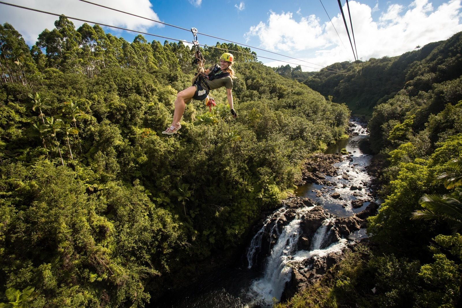 Zipline Through Paradise