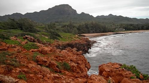 Coastline in Kauai
