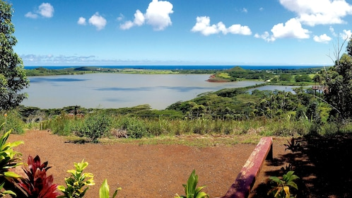 Zipline location in Kauai