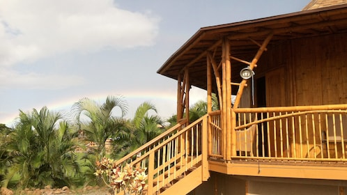 Building on the Maui Dragon Fruit Farm Walking Tour