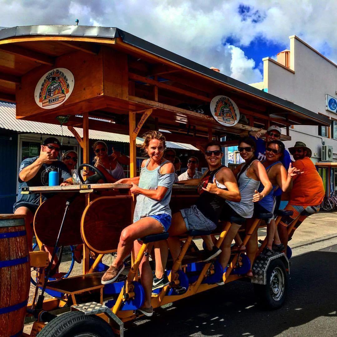 Sunset Party Bike Bar Tour
