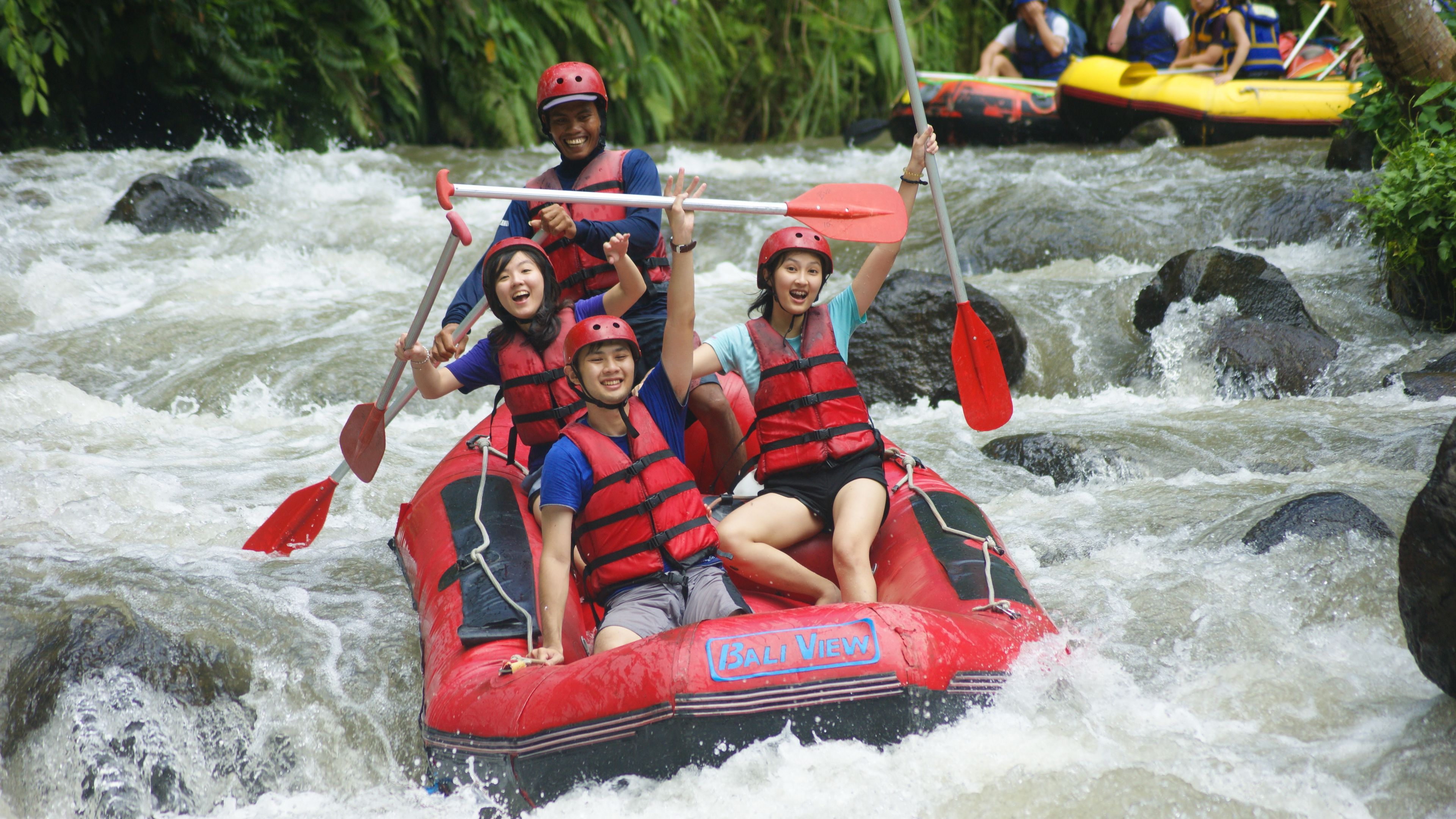 White Water Rafting & Zip Line Experience