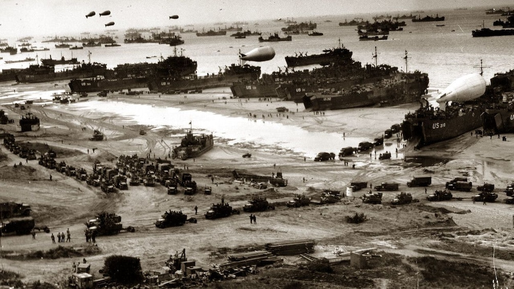 Photo of Storming the beaches