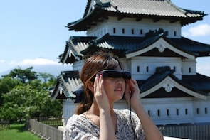 Hirosaki Park Smart Glasses Guided Tour (with lunch)