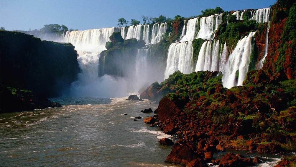Cargar ítem 4 de 10. Panoramic day view of the stunning Puerto Iguazu Falls in Buenos Aires, Argentina