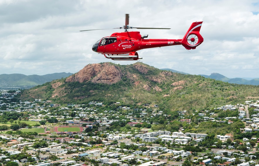 Show item 1 of 8. Helicopter and Magnetic Island Sailing