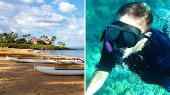Hawaiian Outrigger Canoe & Snorkeling Tour