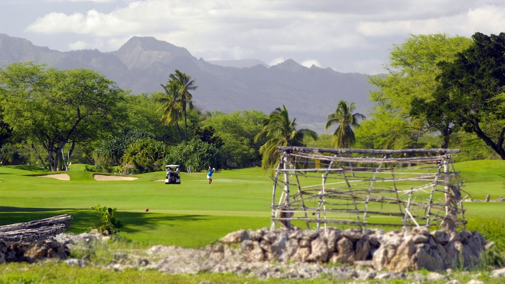 Show item 3 of 8. Ewa Beach Golf course in Oahu